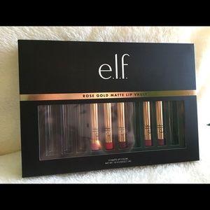 ELF Rose gold matte lip vault - 5 shades